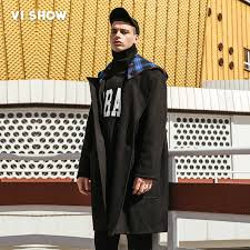 VIISHOW <b>Winter British Style Men's</b> Wool Coat New Design Long ...