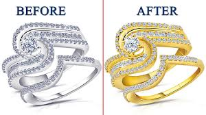 How To Make <b>Silver Color</b> To <b>Gold Color</b> Jewelry - Photoshop CC ...