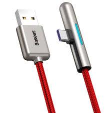 Кабель <b>Baseus</b> Iridescent Lamp <b>HW flash</b> charge Mobile Game ...