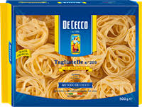 <b>Макароны DE CECCO</b> Tagliatelle 203 группа А в/с – купить в сети ...