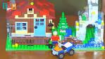 Лего домик самодельный