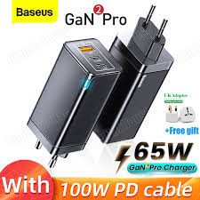 <b>Baseus GaN 2 Pro 65W</b> USB C Charger PD Quick Charge 4.0 QC3 ...