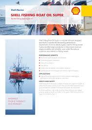 SHELL <b>FISHING BOAT</b> OIL SUPER