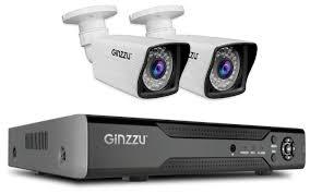 <b>Комплект видеонаблюдения Ginzzu HK-425D</b> 2 камеры — купить ...