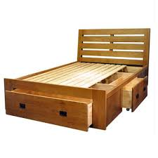 huayi full solid wood furniture white oak bed box bed 15m 18m double bed wood furniture