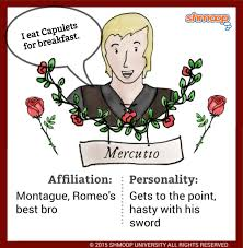 mercutio in romeo and juliet character analysis
