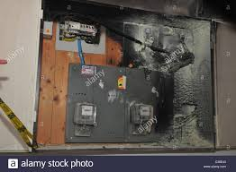 a fire broke out in a household electrical fuse box flames a fire broke out in a household electrical fuse box flames consumed the board the