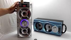 ОБЗОР: Мощная Портативная Стерео Bluetooth Колонка с FM ...
