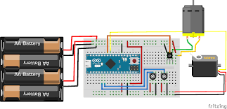 arduino micro electrothoughts diagram of the oscillating fan