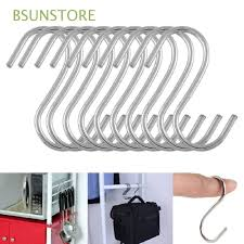 5/10/<b>20pcs</b> Kitchen Household Organizer Stainless Steel Holder S ...