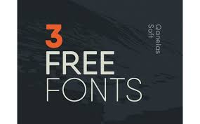new and free cool fonts a designer must downloadqanelas soft   free font weights
