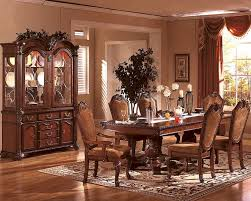 Traditional Formal Dining Room Sets Formal Dining Room Set In Classic Cherry Mcfd5006 Chic Fancy