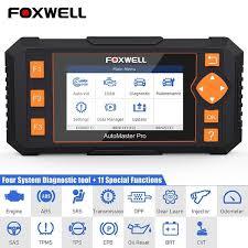 <b>Foxwell NT634 OBD</b> OBD2 Scanner Four System EPB Oil DPF ...
