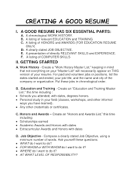 stunning how to write a good job description for a resume brefash job resume samples students 5 student and internship resume how to write a good resume for