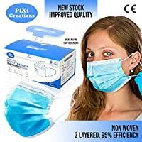 <b>50pcs Disposable</b> Level 2 Masks – <b>Non Woven</b>, Hypoallergenic ...