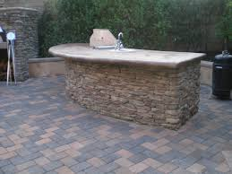 outdoor fireplace paver patio: outdoor fireplace pizza oven bbq island and paver patio traditional patio