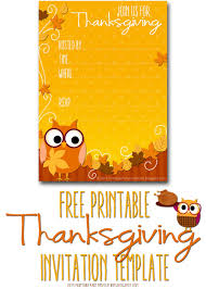 thanksgiving invitation templates ctsfashion com printable party invitations thanksgiving invite template