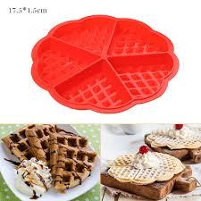 <b>HILIFE</b> High-temperature <b>Baking</b> Heart Shape <b>Silicone</b> Waffle <b>Mold</b> ...
