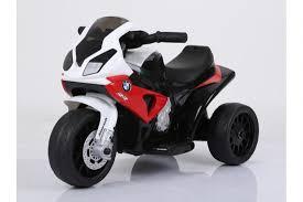 Детский <b>электромотоцикл</b> BMW S1000RR Red (трицикл, 6V ...