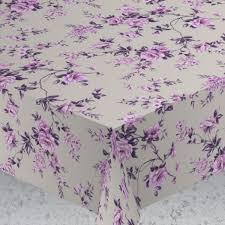 <b>Скатерть ALBA Вальс цветов</b> фиол. 140х180 см
