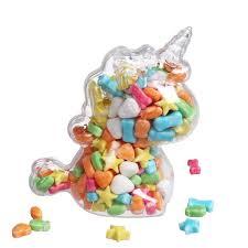 Buy 12 <b>Pieces Candy</b> Bags Simple Cute Unicorn <b>Transparent</b> Bags ...