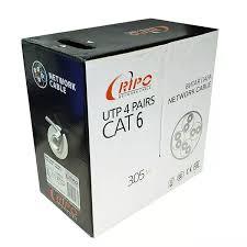 <b>Кабель UTP</b> 4 пары внутренний <b>Ripo</b> Cat.6 — каталог ЛанАрт