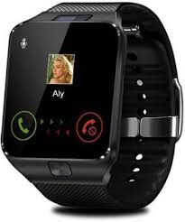 Enew <b>DZ09</b>-BLACK VGT-A7 phone Coal Black <b>Smartwatch</b> Price in ...