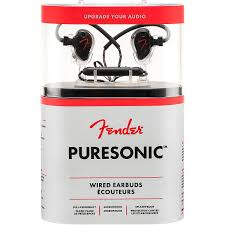 <b>Fender PureSonic Wired Earbuds</b> | Guitar Center