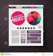 business title page royalty stock photo image  business project title page vector template royalty stock photos