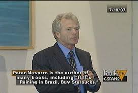 「Peter Navarro、「I am unable to answer these now that I have been appointed to White House position」」の画像検索結果