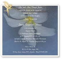Wedding invitation wording and verse examples - Wedding ...