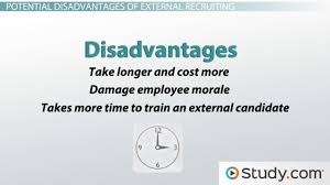the hiring process how human resource managers recruit and hire external recruitment advantages disadvantages methods