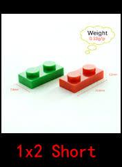 <b>Smartable Plate</b> 1X2 Building Blocks Parts LOGO DIY Educational ...