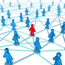 networking success strategies on the internet people networking success strategies on the internet people connected together one member in red and
