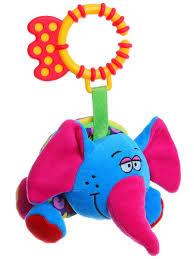 """Игрушка развивающая <b>мягкая гармошка</b> """"Слон"""" <b>BONDIBON</b> ..."""