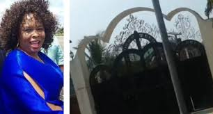 Image result for picture of patience jonathan house being searched