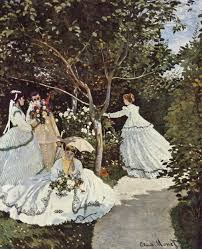 claude monet art history leaving cert claude monet women in the garden 1866 7 the effect of light and