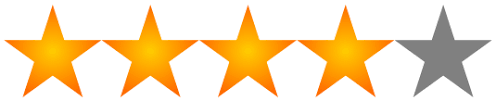 Image result for 4/5 stars