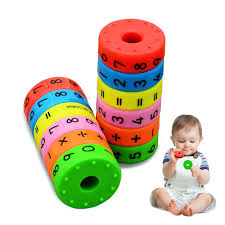 HUIXIN <b>6Pcs Creative</b> Baby Math Toys Magnetic Montessori DIY ...