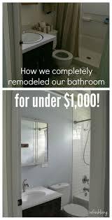bathroom remodel ideas completely change bathroom remodel for under   bathroom remodel for under