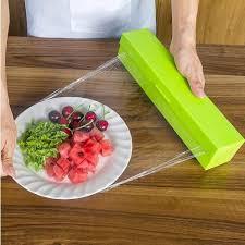 <b>Useful Foil And Cling</b> Preservative Film Wrap Dispenser Cutter ...