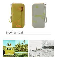 New Arrive <b>Korean Style</b> Passport <b>Wallet</b> Travelus Polyester ...