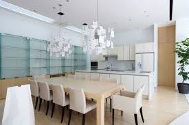 dining table interior design kitchen: modern home interior design for dining room and kitchen combined ideas with rustic expanding table design