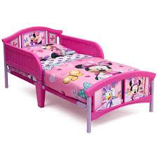 Delta <b>Children</b> Disney Minnie Mouse <b>Plastic</b> Toddler Bed, Pink ...