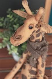 Купить Жорж - <b>коричневый</b>, <b>жираф</b>, подарок, кофейная <b>игрушка</b> ...