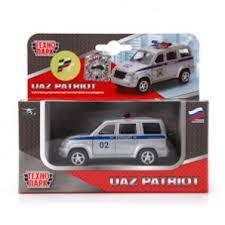 <b>Машина УАЗ Патриот</b> полиция 1:50 металл. <b>Технопарк</b>. Симбат ...