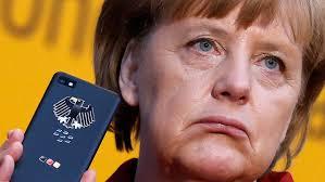 Angela Merkels Handy