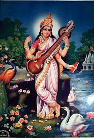 Image result for Images Saraswati