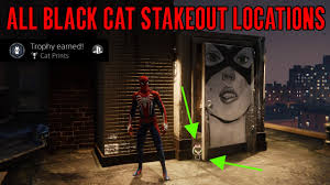 <b>Marvel's Spider</b>-<b>Man</b> 2018 Cat <b>Prints</b> Trophy Guide (All Black Cat ...