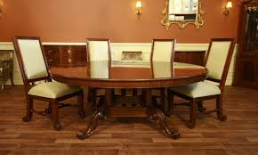 mahogany dining table reproduction antique